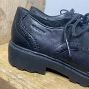 Geox Casey Nappa Shoes Black