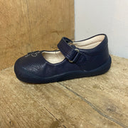 Start Rite Flex Shoes Navy