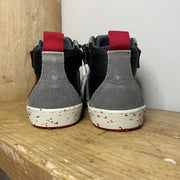 Geox Alonisso High-Tops Grey and Red