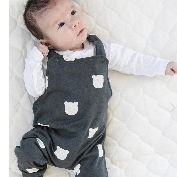 Tobias and The Bear Charcoal Dungarees