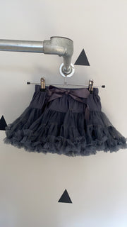 Minis Grey Layered TuTu Skirt