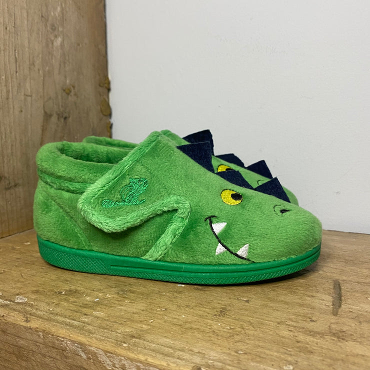 Chipmunks Scorch Slippers Green