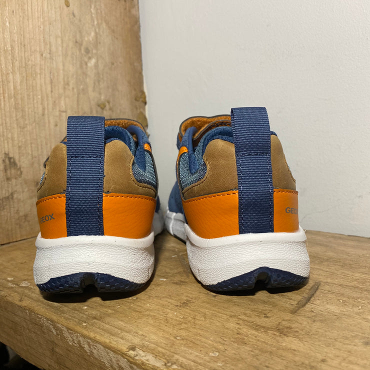 Geox Flexyper Navy and Tan