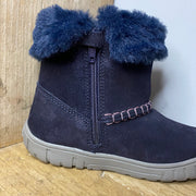 Geox Omar Girls Boots Navy