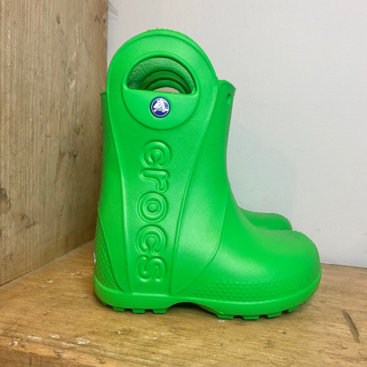 Crocs Handle It Wellington Boots Green