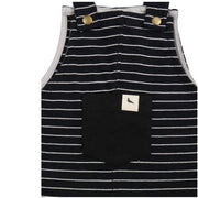 Monochrome Stripe Easy-Fit Dungaree