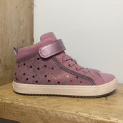 Geox Kalispera High-Top Trainers Dark Pink