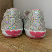 Lelli Kelly Daisy Shoes Silver Glitter