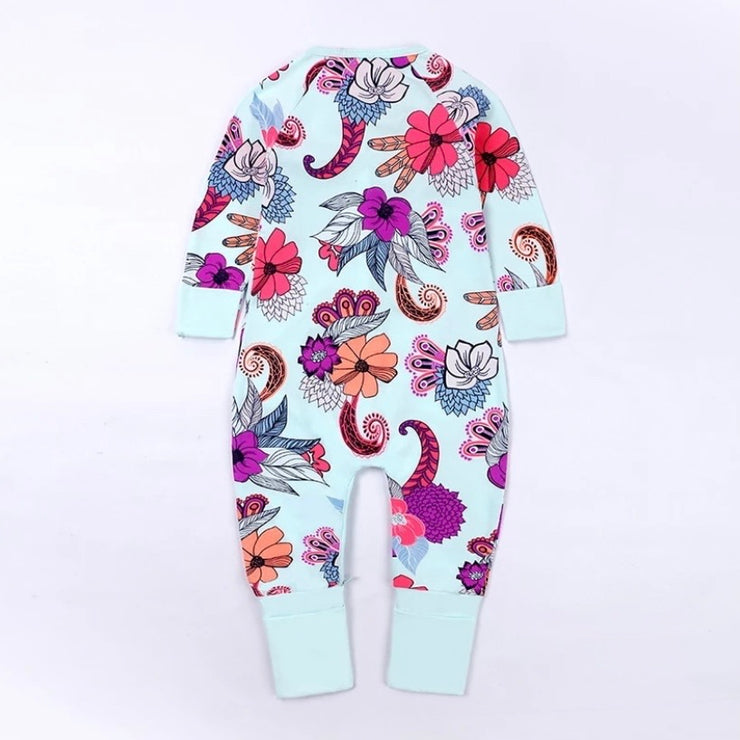Colourful Flower Romper