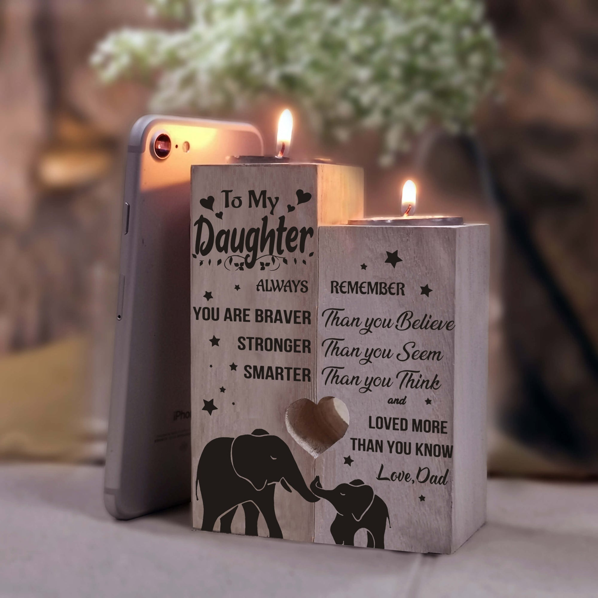 Engraved Candle Holder | My Lovely Presents