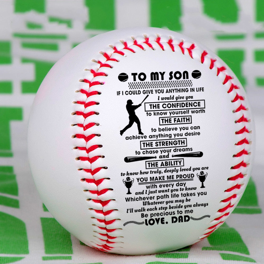 Personalized Baseball | Mty Lovely Presents