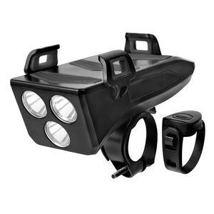 CycleBuds™ - 4 in 1 Bicycle Light/ Phone Holder/ Bike Horn/ Phone Charger