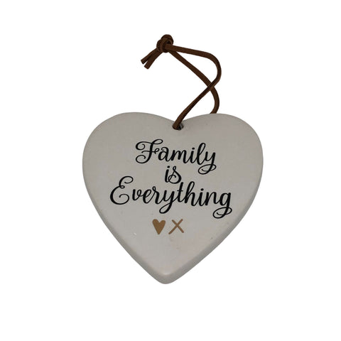 Family is Everything Heart