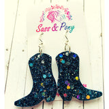 Cowboy Boots Earrings - Assorted