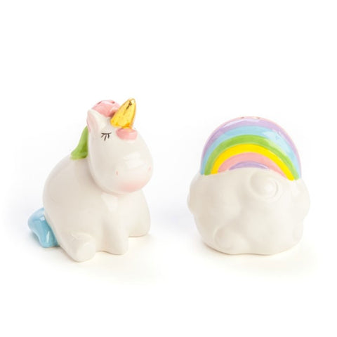 UNICORN SALT & PEPPER SHAKERS