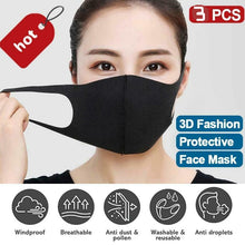 Load image into Gallery viewer, 3 Pack Cotton Face Mask-face mask-All10dollars.com