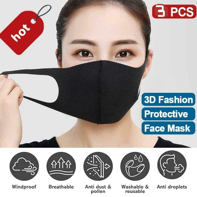 3 Pack Cotton Face Mask-face mask-All10dollars.com