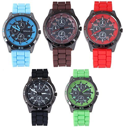 Silicon Men and Women Luxury Wrist Watch