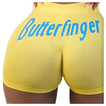 Load image into Gallery viewer, Women Booty Shorts Letters Print-booty snack pants-All10dollars.com