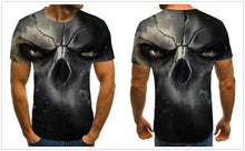 Load image into Gallery viewer, Motorbike Tee Skull shirt