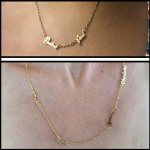 Necklaces Stainless Steel Multiple Names Choker Chain-necklace-All10dollars.com