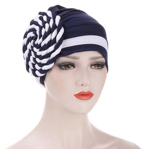 Braided turban bonnet head - Twisty-All10dollars.com