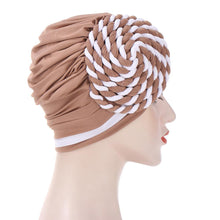 Load image into Gallery viewer, Braided turban bonnet head - Twisty-All10dollars.com