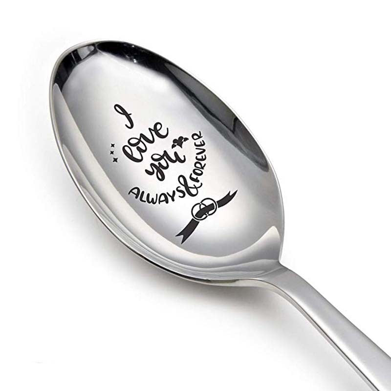 romantic love gift letter Long Spoon new year party favor-Love gift-All10dollars.com