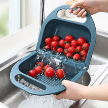 Load image into Gallery viewer, Foldable Drain Basket Fruit Vegetable Container-kitchen strainer-All10dollars.com