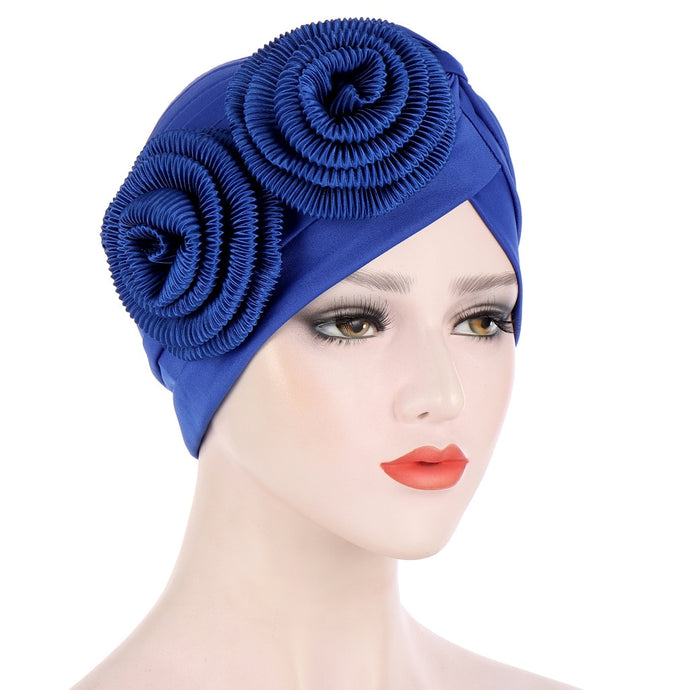 Women Hair Loss Hat Head Scarf Turban Chemo Cap-bonnet-All10dollars.com