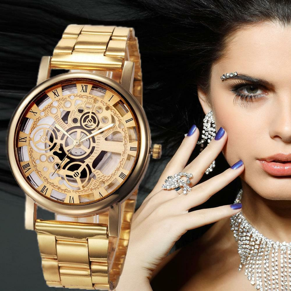 Unisex Mechanical Luxury Stainless Steel Watch-wrist watch-All10dollars.com