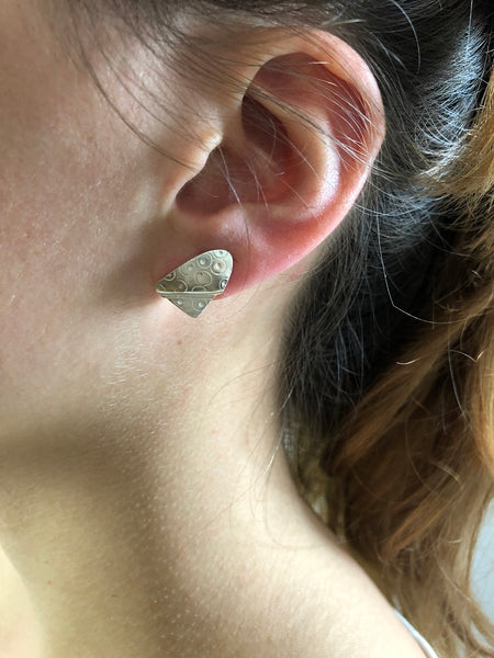 "Boucles d'oreille ""Spaceship"""