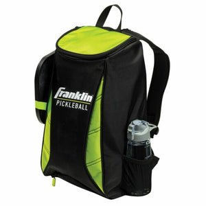 Franklin Sport Premium Pickleball Backpack Black Optic Green