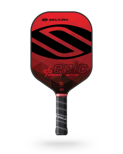 2021 Selkirk Amped X5 Epic Pickleball Paddle Midweight Ruby Red