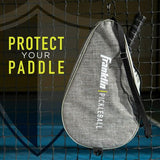 Franklin Sport Premium Paddle Case Grey