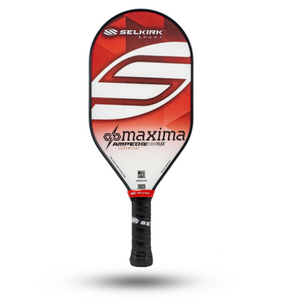 2020 Selkirk Amped X5 Maxima Pickleball Paddle Lightweight Fiber Flex Red