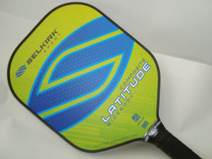 Selkirk Sport Latitude Widebody Composite Pickleball Paddle Lemon Blueberry