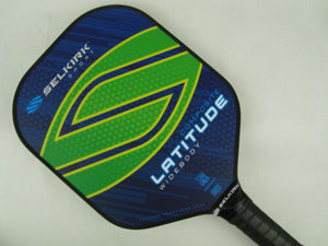 Selkirk Sport Latitude Widebody Composite Pickleball Paddle Lakeside Lime