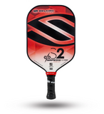 2020 Selkirk Amped X5 S2 Pickleball Paddle Midweight Fiber Flex Ruby Red