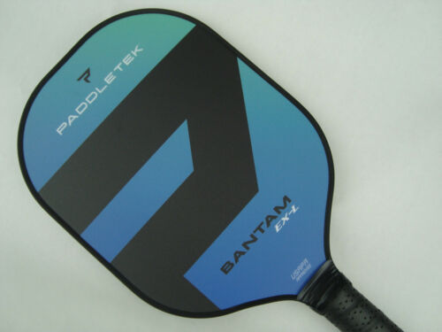 Paddletek Bantam EXL Pickleball Paddle Polymer Honeycomb Core EX-L Riptide Blue