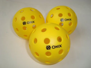 3 Onix Pure 2 Pickleball Balls Outdoor Pure2 Tournament Play Meets USAPA Set (3)