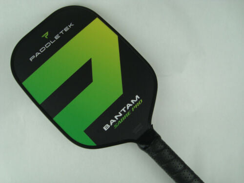 Paddletek Bantam Sabre Pro Pickleball Paddle Scott Moore EX-L Barium Green
