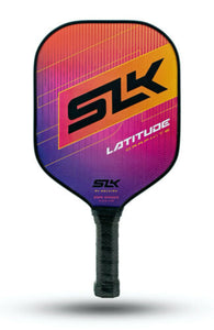 Selkirk SLK Latitude Pickleball Paddle Widebody Pink Rasberry Orange