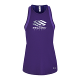 Selkirk Sport UA Performance Women's Tank Shirt Under Armour Purple Medium