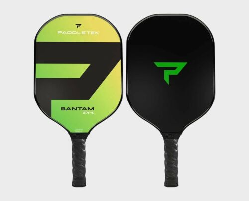 Paddletek Bantam EXL Pickleball Paddle Polymer Honeycom Core EX-L Barium Green