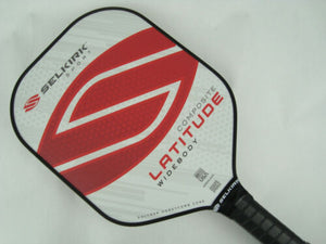 Selkirk Sport Latitude Widebody Composite Pickleball Paddle Red Force