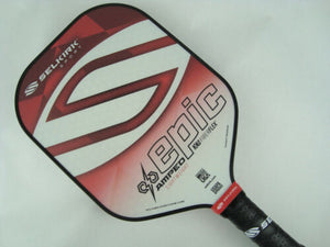 2020 Selkirk Amped X5 Epic Pickleball Paddle Lightweight Fiber Flex Red