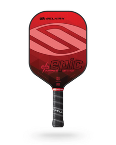 2021 Selkirk Amped X5 Epic Pickleball Paddle Lightweight Ruby Red