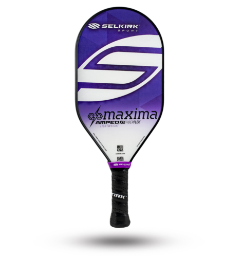 2020 Selkirk Amped X5 Maxima Pickleball Paddle Lightweight Fiber Flex Purple