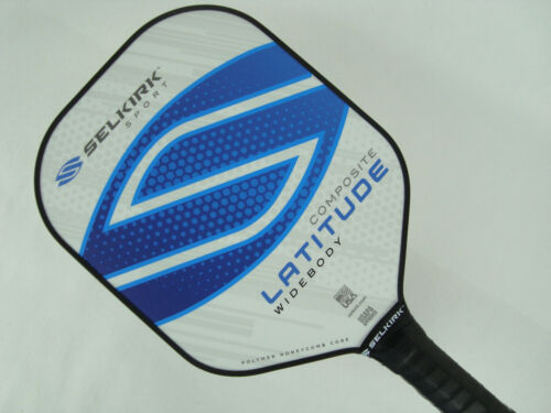 Selkirk Sport Latitude Widebody Composite Pickleball Paddle Blue Force